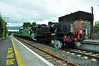 No. 4 at Gorey with the 1600 Wexford - Connolly RPSI Seabreeze Railtour. Sun 25.07.10