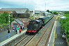 The railtour pauses at Gorey for No. 4 to be watered. Sun 25.07.10