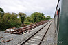 At Clonsilla work has started to construct a Bay Platform to allow a Clonsilla - M3 Parkway shuttle service to operate at off peak times. A new crossover waits to be installed on the M3 Branch. Sun 11.09.11
