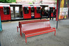 Another survivor from the Network South East era is these Station Benches on the Central Line Platforms at Ealing Broadway. Sun 15.05.11