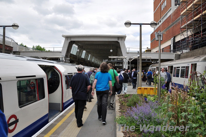 The 1967 First and Last tour after arriving at Uxbridge. Sun 15.05.11