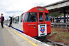 An unusual destination display, one of several displayed during the break at Ealing Broadway. Sun 15.05.11
