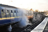 3185 steaming away at Maynooth. Badly needed on a cold December day. Sat 17.12.11