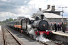186 waits departure time with the 1320 Athlone - Ennis South Clare RPSI Railtour. Sat 12.05.12