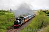 186 hauls the South Clare RPSI Railtour past Kilmalaw at the 95 3/4 MP. Sat 12.05.12