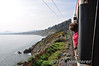 The 1055 M3 Parkway - Rosslare Europort passes Killiney Bay. Sat 24.03.12