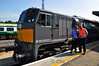 Gerry Dalton, Assistant Station Manager Heuston & Steven Dowdall, Station Controller Heuston pose by 071. Sat 20.07.13