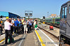 The enthusiasts get their photos of 071 at Heuston. Sat 20.07.13