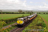 072 working the 1050 Connolly - Waterford Golden Vale Railtour passes Fenniscourt, Co. Carlow.  Sat 11.05.13