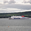 The Stena Superfast VIII at Belfast Lough. Sat 24.08.13