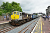 079 stands at Clonmel during a photo stop. 1210 Waterford - Limerick IRRS Tour. Sat 19.07.14