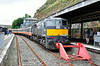 078 stands at Waterford Station. It would be replaced by 079 for the run to Limerick IRRS Special to Waterford & Limerick.. Sat 19.07.14