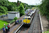 074 stands at Birdhill during a photo stop. 1535 Limerick - Connolly IRRS Spl. Sat 19.07.14