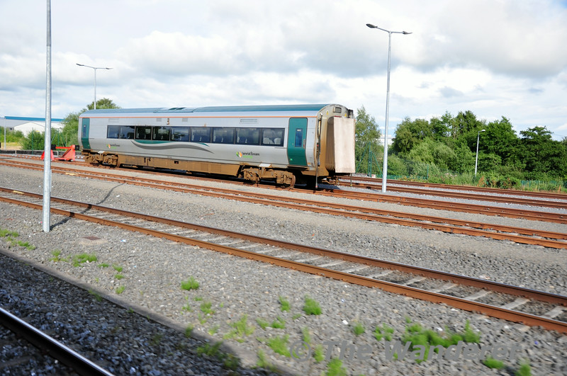 Vehicle 22534 stored at Laois Train Care Depot. This vehicle will be formed into 22014 once it returns to traffic. Sat 19.07.14