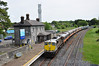 074 stands at Clara with the RPSI Gaway Bay Railtour. 0930 Connolly - Galway.  Fri 16.05.14
