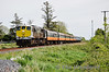 074 passes XG162 Frenchfort Level Crossing with the 0930 Connolly - Galway RPSI Galway Bay Tour. Fri 16.05.14