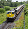 074 slows for its Tullamore stop with the RPSI Galway Bay Railtour. 0930 Connolly - Galway. Fri 16.05.14