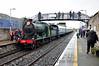 461 at Athy. 1455 Kilkenny - Connolly RPSI St. Canice Railtour. Sun 18.05.14