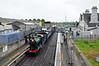 461 arrives at Athy where a water stop would take place. 1455 Kilkenny - Connolly RPSI Saint Canice Railtour. Sun 18.05.14