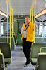 "Jim Deegan, Railtours Ireland onboard the ""Dublin Bay Hopper"". Sat 07.06.14"