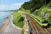 "8107 skirts Killiney Bay. 1000 Bray - Connolly Railtours Ireland ""Dublin Bay Hopper"" Special. Sat 31.05.14 <br><br> Visit <a href=""http://dublinbayhopper.com"" target=""_blank"">Railtours Ireland Dublin Bay Hopper</a> for further information. <br><br> Photo courtesy of Shane Roberts."