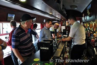 Sean Clancy behind the bar on 1514. Sun 09.08.15