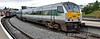 9004 at Drogheda. 1200 Dublin Connolly - Belfast Central Enterprise. Sun 09.08.15