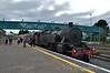 No. 4 just after arriving at Dundalk. 1140 Spl. from Drogheda. Sun 09.08.15