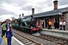 461 arrives light engine from Cork at Midleton. Sat 09.05.15