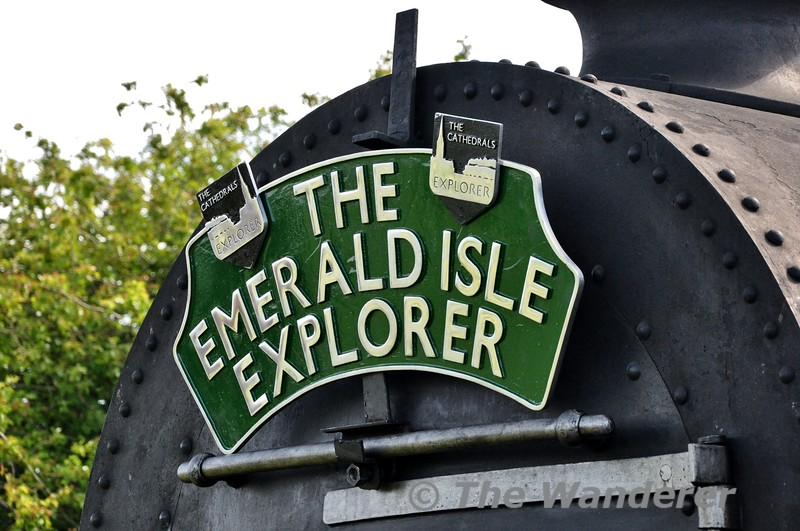 The Emerald Isle Explorer headboard. Fri 19.06.15