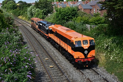 RPSI Diesel Transfer Inchicore to Connolly. 19th July 2016