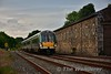 22026 arrives into Enniscorthy with the 1736 Connolly - Wexford. Thurs 17.06.16