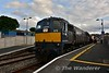076 stands at Enniscorthy. 1905 Rosslare Europort - Connolly. Thurs 17.06.16
