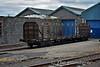 Timber wagon 30507 at Limerick Wagon Works. Fri 17.06.16