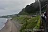 Running along the coast at White Rock, Killiney. Thurs 17.06.16
