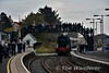 """A huge crowd turned out in Castlerock to greet 85 """"Merlin"""" arriving into the station. Sun 30.10.16"""