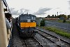 087 had hauled the Belmond Train to Inchicore from Heuston. Sat 22.10.16