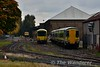 2723, 2705 and TRV 700 at Inchicore. Sat 22.10.16