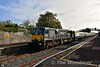 """078 at Clonmel with the 0930 Waterford - Cork """"Emerald Isle Express"""". It would cross the 0945 Limerick Jct. - Waterford service here. Tues 27.09.16"""