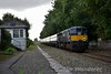 """078 passes the former station at Fiddown with the 0930 Waterford - Cork """"Emerald Isle Express"""". Tues 27.09.16"""