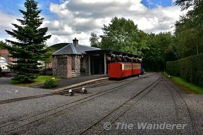 Difflin Lake Railway at Oakfield Park
