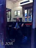 D.T.E. John Sinclair takes a break in BR Van 3173. Sat 14.10.17 <br /> <br /> Photo courtesy of JOR.