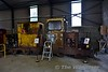 Inside the new maintenance shed at Stradbally. Sun 24.09.17