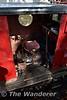 Rusty's drivers cab. Sun 24.09.17