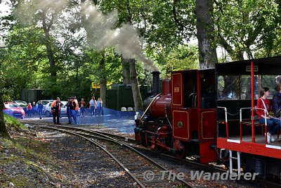 Stradbally Woodland Railway - Sunday 24th September 2017