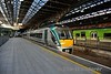 """22055 stabled in Connolly Platform 2 prior to forming the Branch Line Society""""The Fairview Failte"""". Sun 06.05.18"""