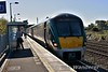 """22055 at the bay platform in Clonsilla prior to forming the 0938 to M3 Parkway Headshunt leg of the BLS """"The Fairview Failte"""". Sun 06.05.18"""