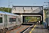 """22055 at M3 Parkway waiting to form the 0918 M3 Parkway - Clonsilla Platform 3 leg of the BLS """"The Fairview Failte"""". Sun 06.05.18"""