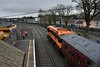 071 at Carlow with the 0845 Connolly - Waterford Branchline Wanderer Spl. Sat 07.04.18
