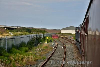 The macine siding at Wicklow. Sun 08.07.18